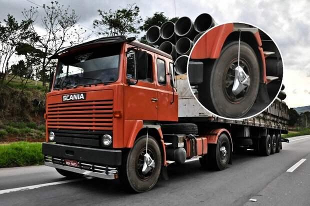 Что за таинственные штуковины надеты на колеса тягачей в Латинской Америке