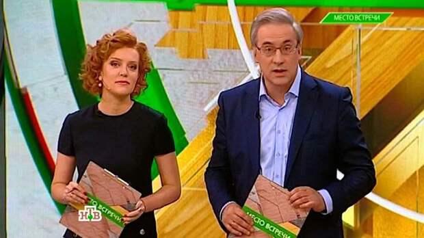 Андрей Норкин и Ольга Белова