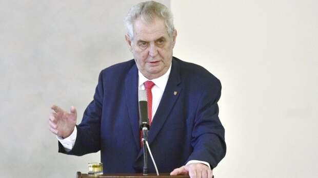 Президент Чехии: страны ЕС тоже должны перенести посольства в Иерусалим