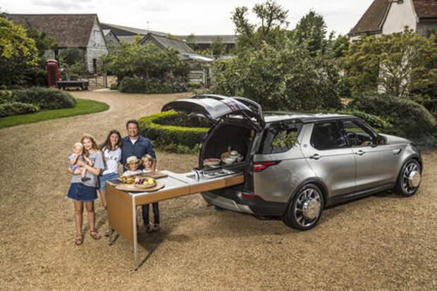 Джейми Оливеру понадобилась кухня во внедорожнике. Land Rover сделал!