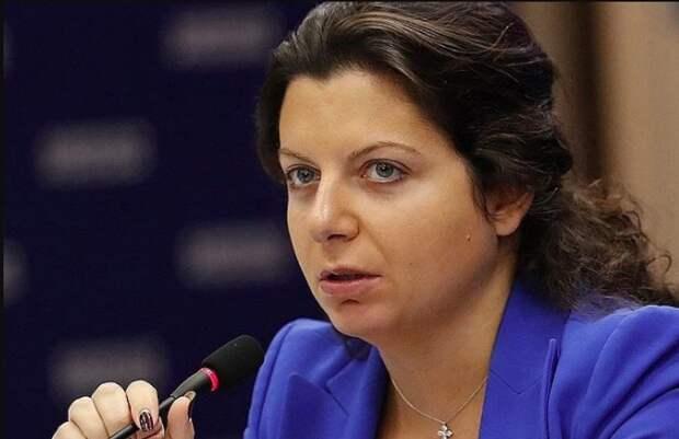 Маргарита Симоньян: Отдельно имею сказать следующее