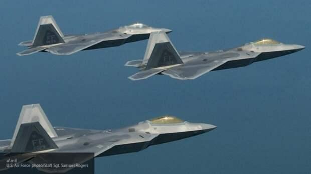 США разместят 150 истребителей F-34 и F-22 на Аляске