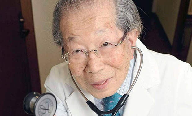 Доктор из Японии дожил до 105 лет и дал советы долголетия