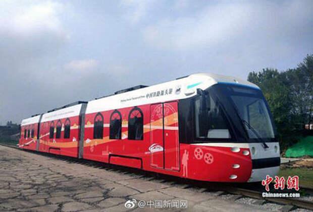 Будущее наступило - в Китае запущен первый в мире трамвай на водороде
