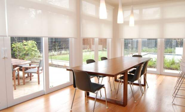 18 способов создать шторы для беседок и веранд
