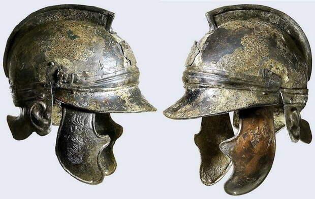 Карфагенский шлем, датированный приблизительно 200 годом до н.э. - Мегаполис, стёртый с лица земли | Warspot.ru