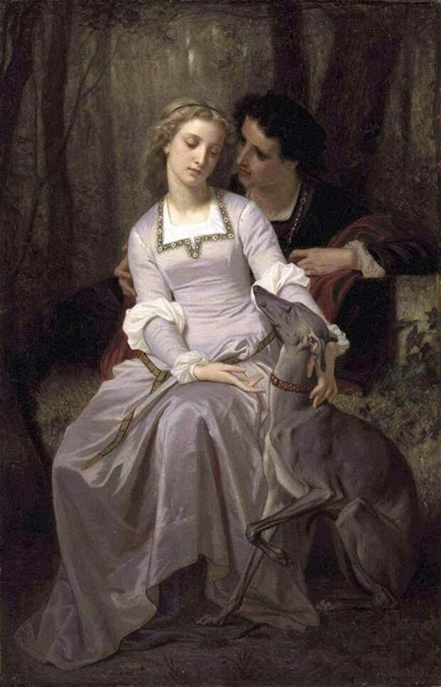 История любви 400-летней давности на картинах известных художников