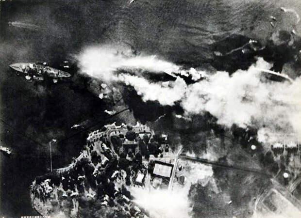 Перл-Харбор. Подборка фотографий 7 декабря 1941