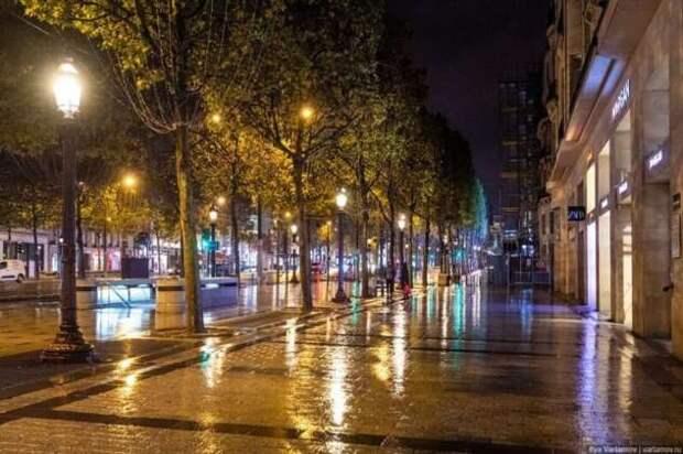 Комендантский час в Париже (18 фото)