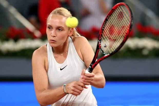 Векич одержала победу в первом матче WTA-тура после паузы, вызванной пандемией коронавируса