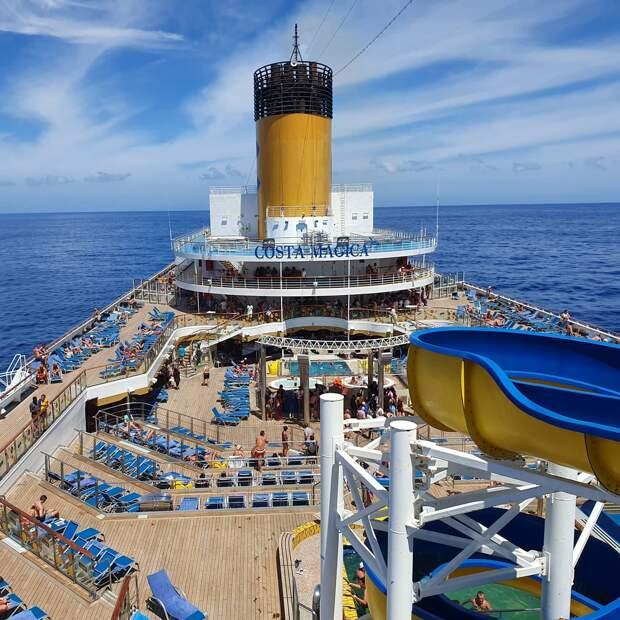 Россияне сошли с круизного лайнера Costa Magica в Гваделупе