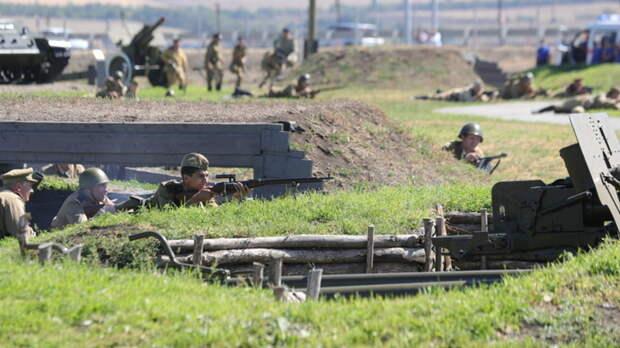 Под Таганрогом пройдет реконструкция боев ВОВ
