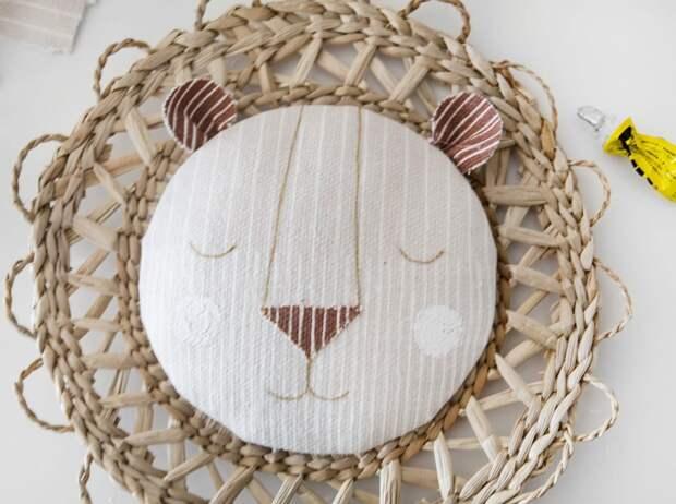Львёнок  в комнату малыша (diy)
