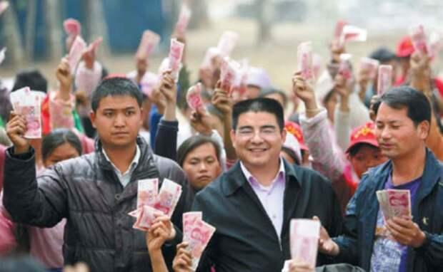 В Китае с 1 января бизнесменам запрещено быть богаче, чем самый бедный их наемный работник