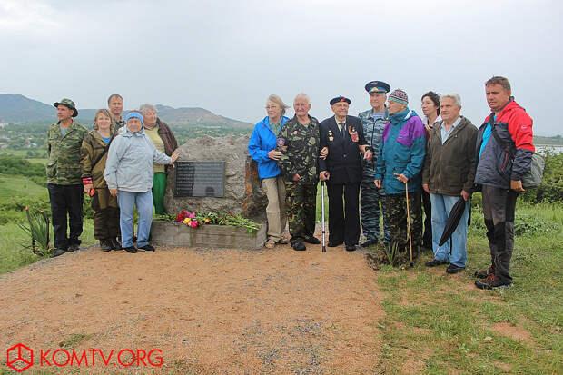20 мая 2018 года. Открытие памятного знака у дер. Бакаташ, Старый Крым