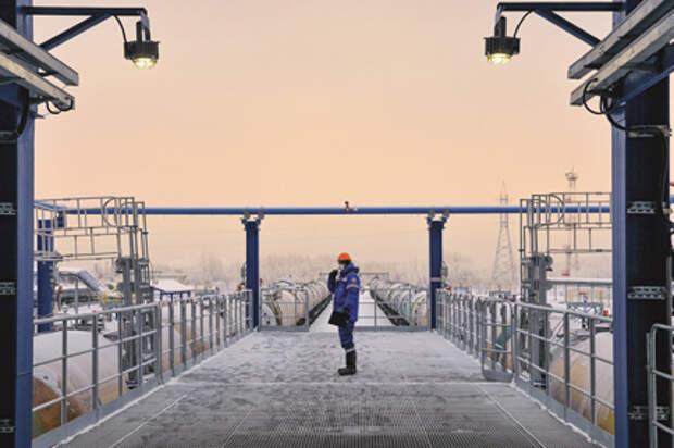 На фотографии: линейная производственно-диспетчерская станция Сокур (АО Транснефть - Западная Сибирь)