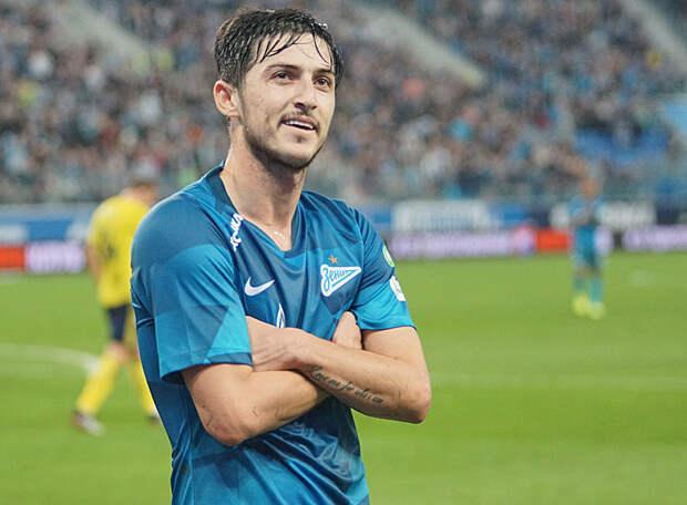 Федерация футбола Ирана отпустила форварда Азмуна в «Зенит» по просьбе клуба