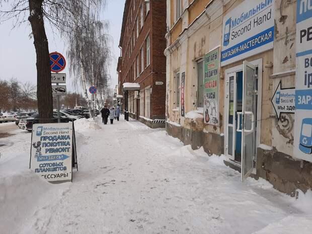 Воткинск очистят от рекламного мусора