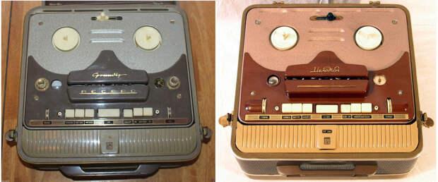 Grundig TK820, 1955 — «Мелодия МГ-56», 1956