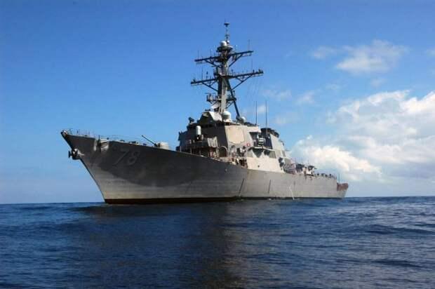 Российские ВКС повторили учебный налёт на эсминец США, но уже расширенным составом