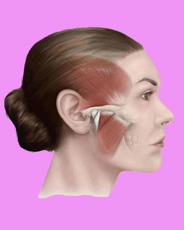 Омолаживающая техника, которая поможет держать в тонусе мышцы лица