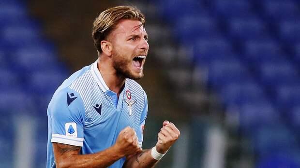 Гол Иммобиле принес «Лацио» волевую победу над «Сассуоло»