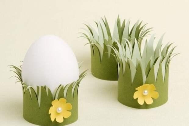 12. А если совершенно нет никакого желания красить яйца, а праздника и красоты хочется, можно пойти другим путем пасха, праздник, украшение яиц, яйца
