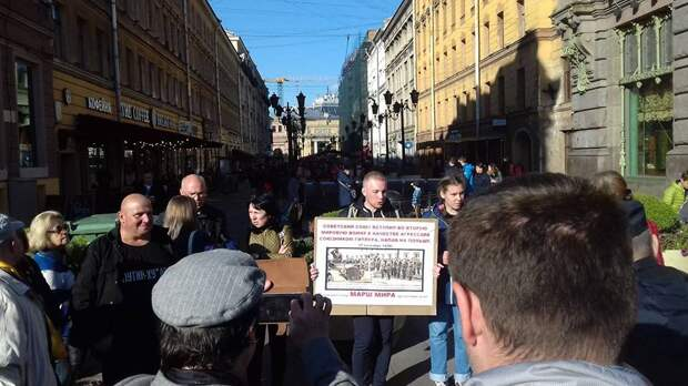 """На Невском проспекте происходит нечто невероятное для всего """"свободного мира"""""""