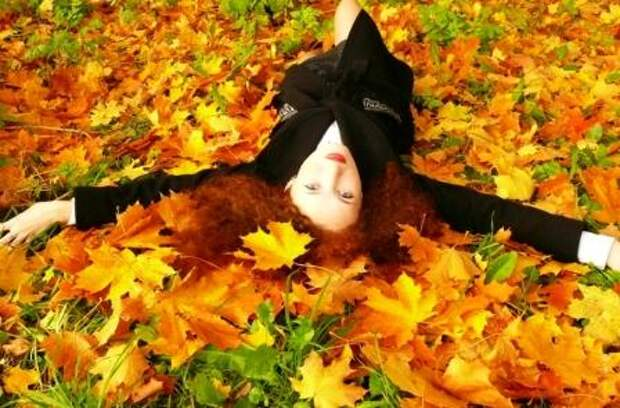 Цветотип внешности. Женщина - Осень