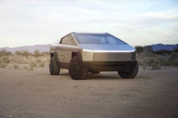 6 фактов о новой машине Tesla Cybertruck. Она как будто из старой видеоигры