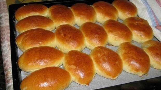 Печёные дрожжевые пирожки без заморочек!