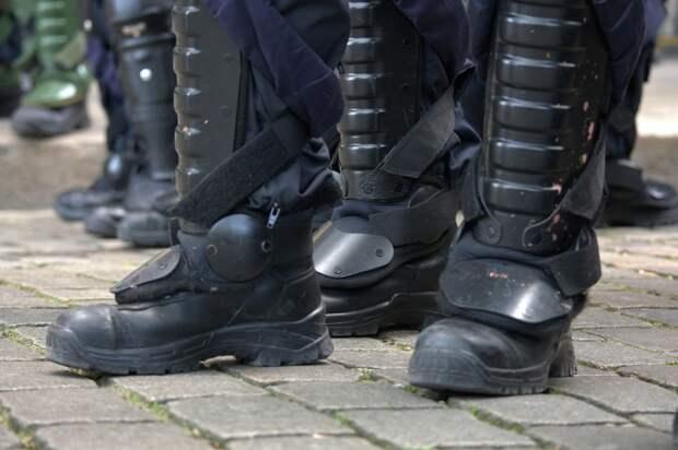 В белорусском Гомеле демонстранты подрались с ОМОНом