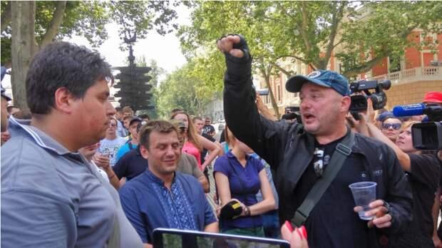Одесский евроромайданер Марк Гордиенко. Слуга всех платежеспособных господ