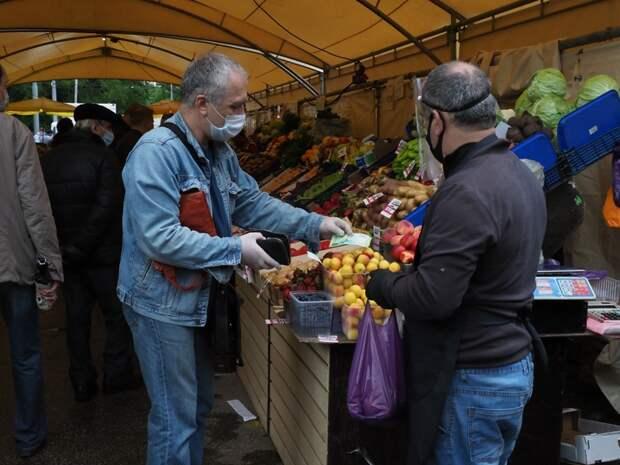 На ярмарке в Савеловском производители из 7 российских регионов представили свою продукцию