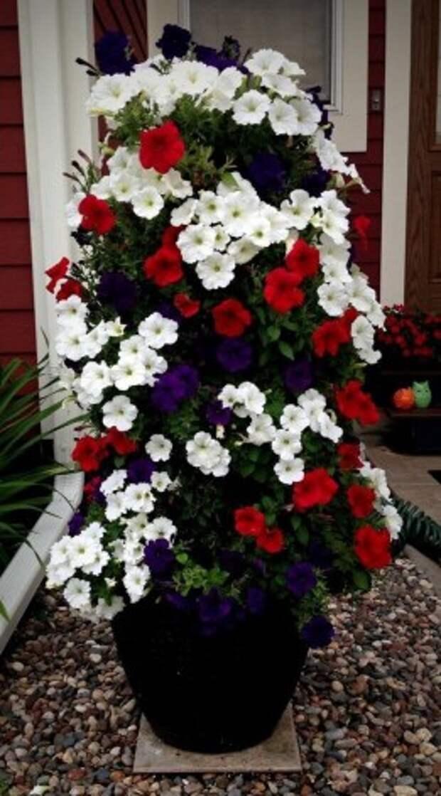 17 цветочных башен, которые можно сделать за выходные