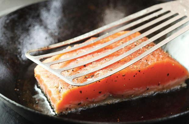 Жарим рыбу в 4 шага и забываем о пережаренности