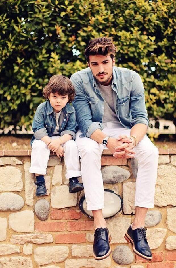 likefatherlikeson17 Сыновья на этих фотографиях — вылитые отцы. И наоборот