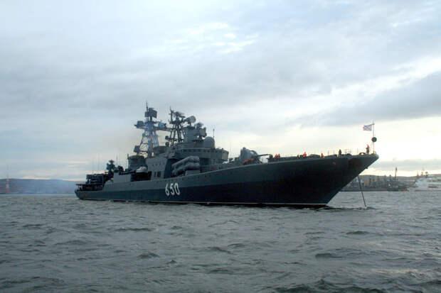 Самые опасные для подлодок российские корабли назвали в США