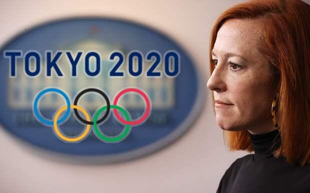 Новый конфуз Псаки: спикер Белого дома перепутала зимнюю и летнюю Олимпиады, а Токио с Пекином — видео