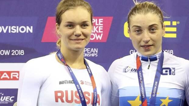 Войнова и Шмелева завоевали серебряную и бронзовую медали на ЧМ по велотреку