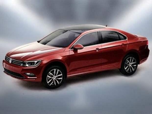 Новый седан Volkswagen «просочился» в Сеть