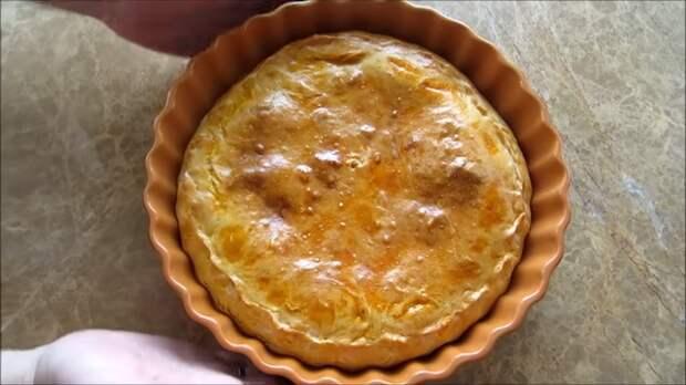 Пирог в грузинском стиле Еда, Пирог, Вкусно, Приготовление, Рецепт, Видео рецепт, Длиннопост, Другая кухня, Выпечка, Видео