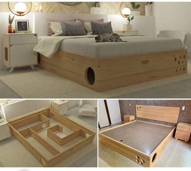 Кровать - лабиринт