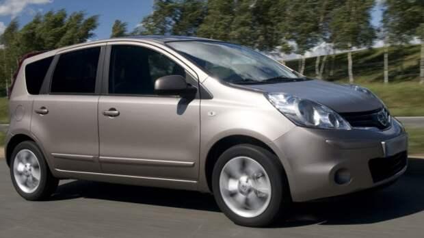 Nissan Note исчез из линейки представленных в России автомобилей
