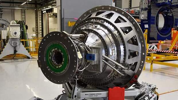 Rolls-Royce UltraFan power gearbox ground unit