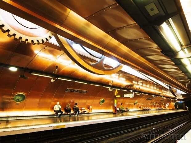 Самые красивые станции метро