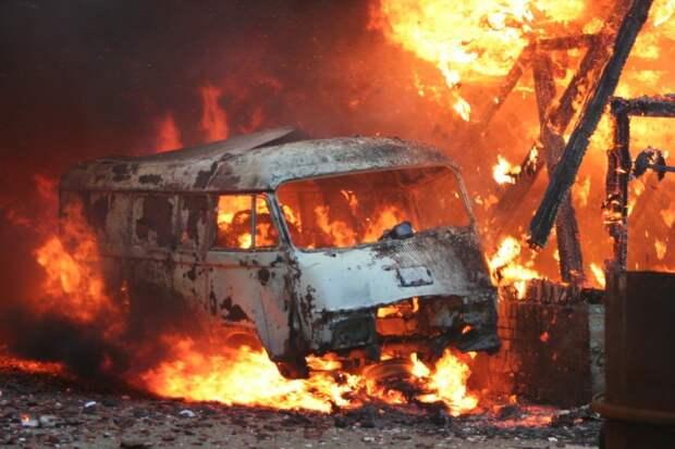 Южная Корея ввела режим ЧС из-за охватившего 5 городов пожара
