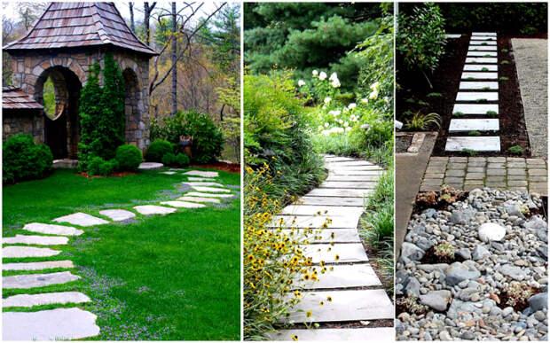 Вот так нужно оформлять садовые дорожки. \ Фото: stroy-express.su.