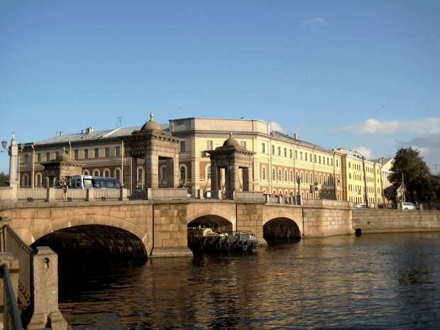 Мост Старо-Калинкин (Санкт-Петербург и Лен.область, Санкт-Петербург, через р. Фонтанку, по Старо-Петергофскому проспект).JPG