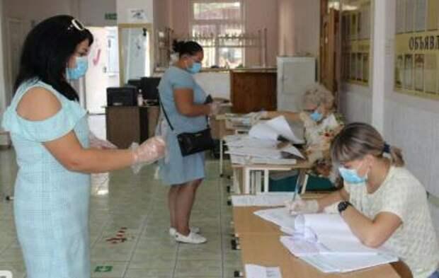 На Кубани в первый день досрочных выборов проголосовали около тысячи человек